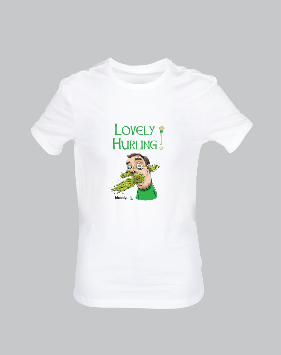 Lovely Hurling Hurl Sick Vomit Sport GAA Funny T-shirt