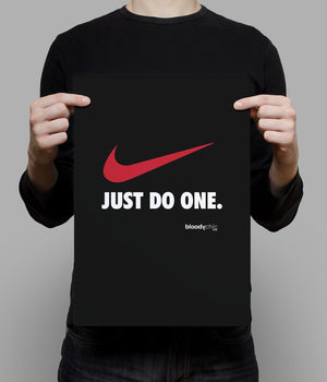 Just do one._A3 Poster