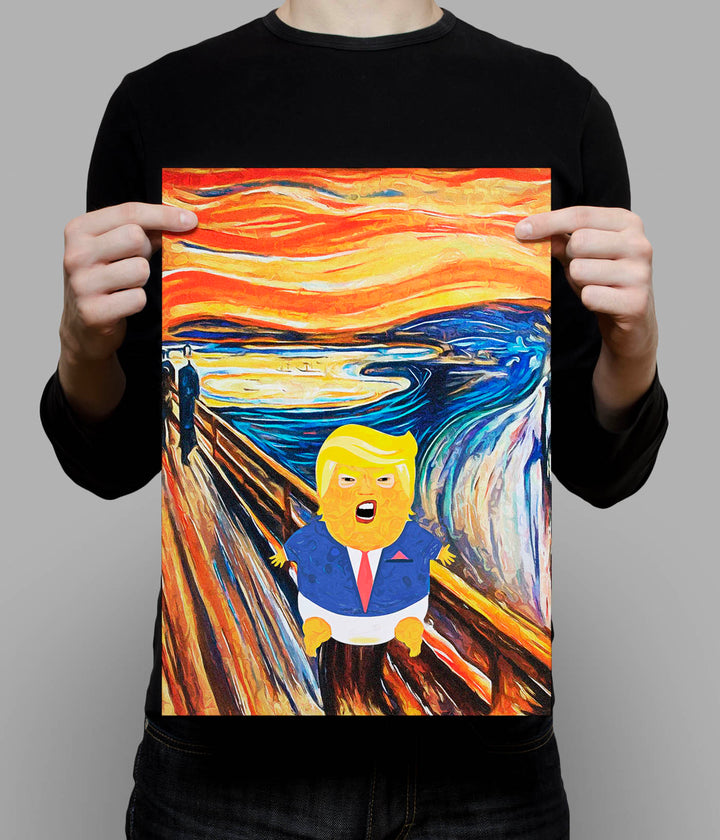 Trump Scream_A3 Poster