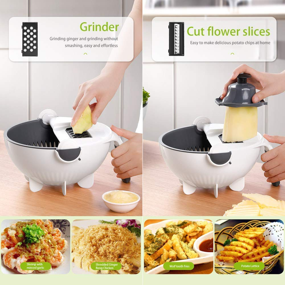 Baloory 9-IN-1 SMART CHOPPING & STRAINER
