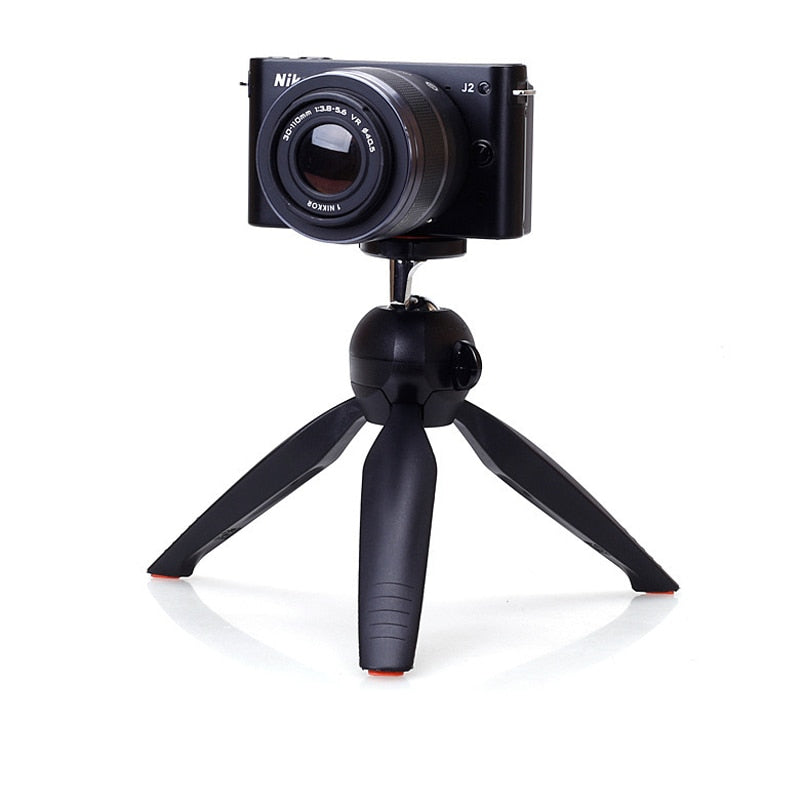 Mini Tripod With Phone Holder Clip