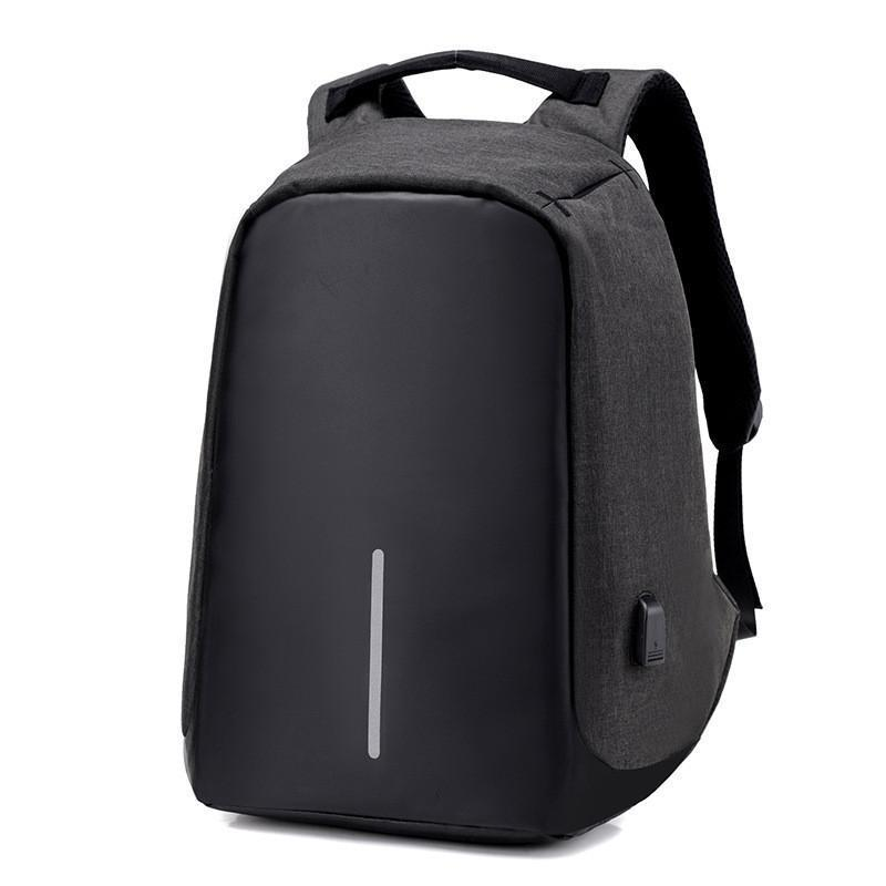 The Stylopedia Phone Accessories Black New Unisex anti-theft Backpack