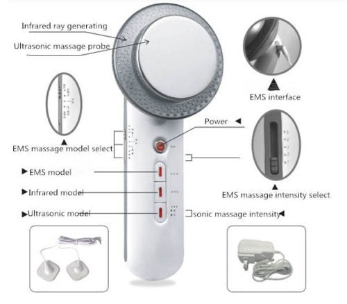 Ultrasonic Cavitation Fat & Cellulite Removal Slimming Machine