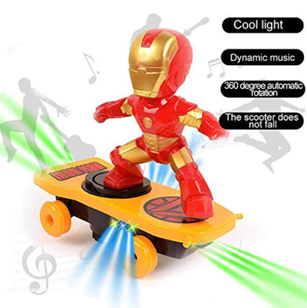 Super Heroes Scooter Toy