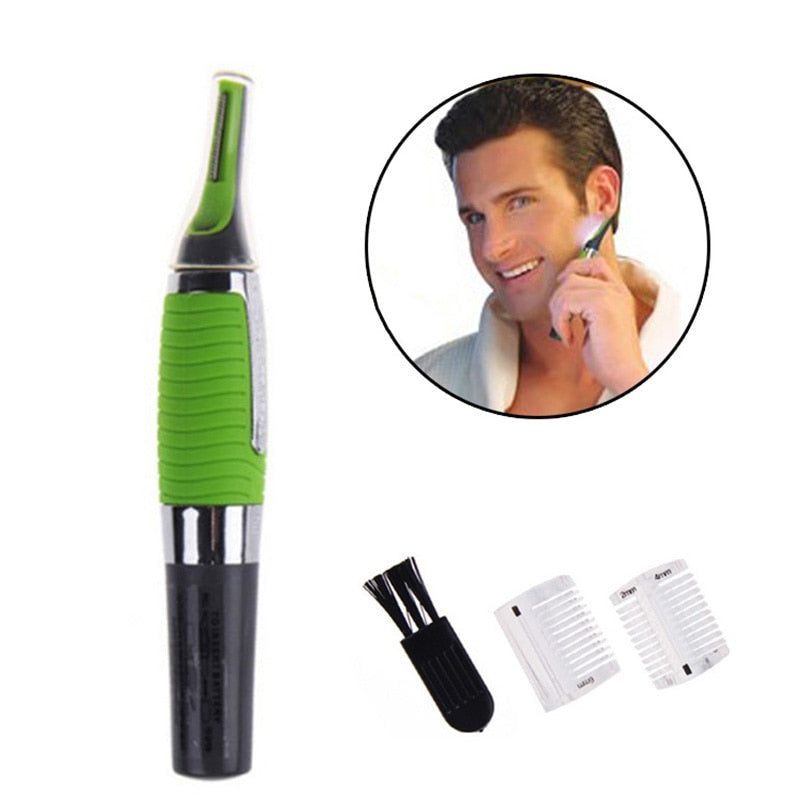 The MagicHair™ ELECTRIC NOSE HAIR FACIAL TRIMMER