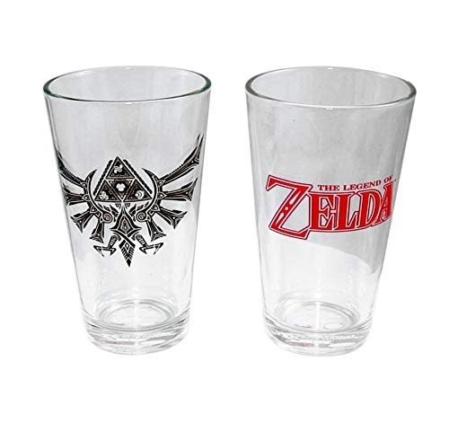 The Legend of Zelda Nintendo Pint Glass- Set of 2