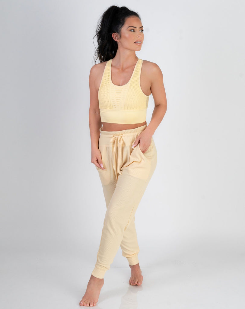 Laid Back Lounge Pant-Lemonade