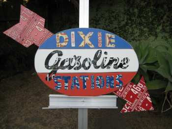 DIXIE Gasoline Stations
