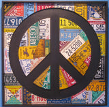 Peace Sign - 50 State Collage