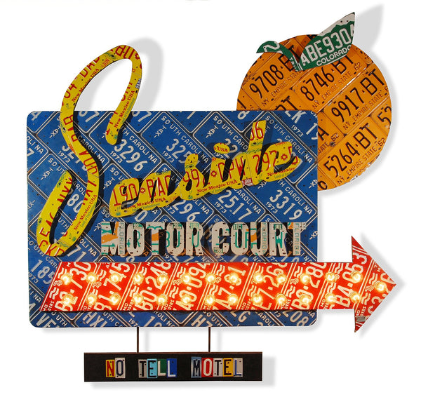 "Seaside Motor Inn - The ""No Tell Motel"""