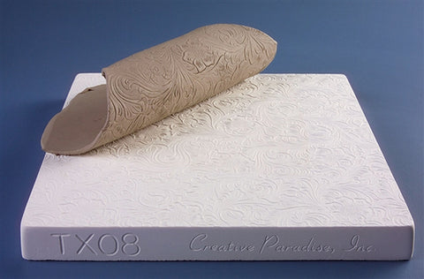 Tooled Leather Texture Mold