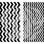 Designer Silk Screen Patterns - Chevron