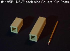 Square Kiln Post 6''