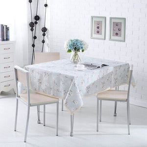 Rural Style Print Decorative Tablecloth