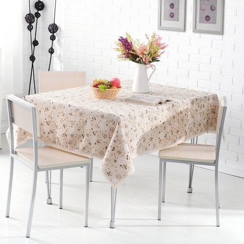 Tablecloth Dining Table Home Decor