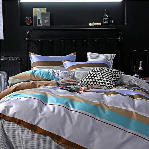 Style Colorful Printed Duvet Cover