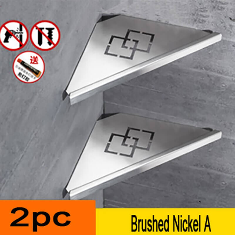 304 stainless steel bathroom shelf