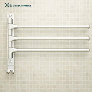 European Space Aluminium Towel Rack 4/3/2