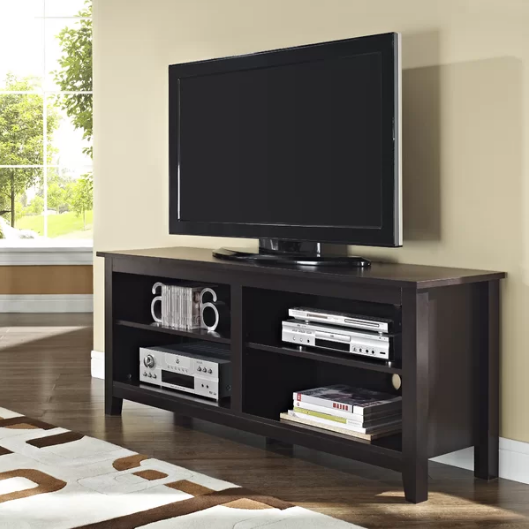 Espresso Sunbury TV Stand for TVs up to 60