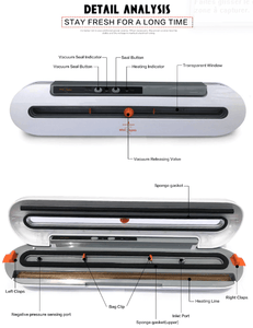 Household Food Vacuum Sealer Packaging Machine