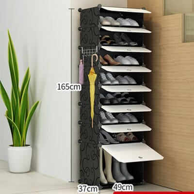 movable shoe storage for home shoe cabinet