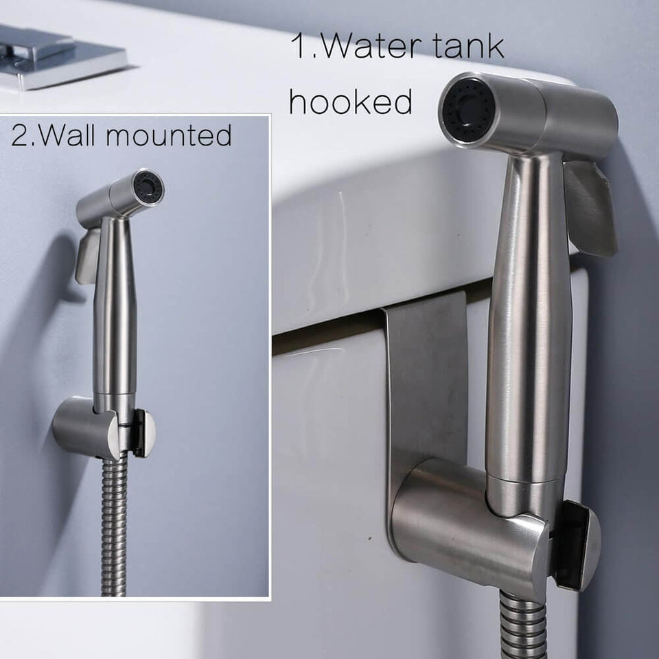 Handheld Toilet bidet sprayer set Kit Stainless