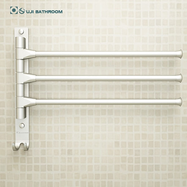 Towel Rack 4/3/2 Arms  with Hooks Bathroom