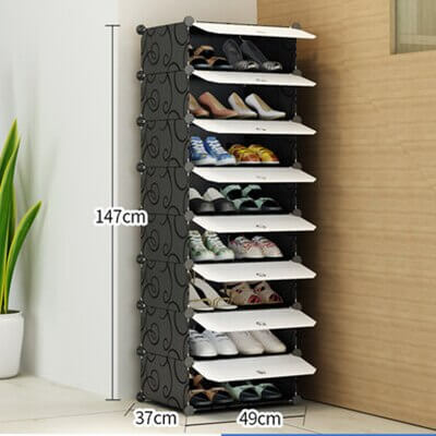 movable shoe storage for home