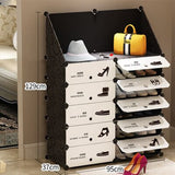 movable shoe storage for