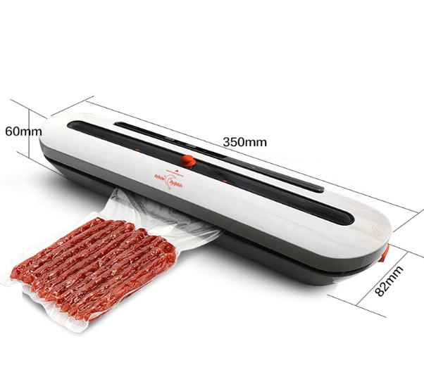 Household Food Vacuum Sealer Packaging Machine With 10pcs Bags