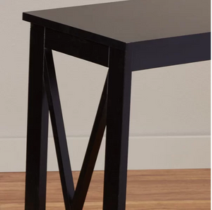 Black Stoneford Console Table - AsSeenOnTheShow