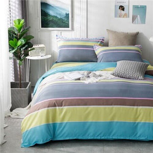 PC 100% Polyester  Style Colorful Printed Duvet Cover