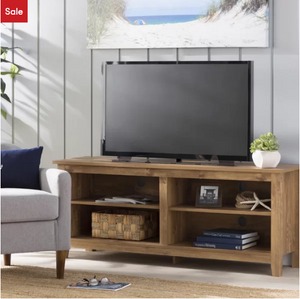 "Barnwood Sunbury TV Stand for TVs up to 60"" - AsSeenOnTheShow"
