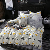 Colorful Printed Duvet Cover