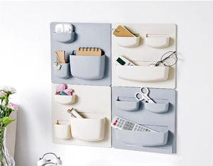 Home Storage Wall Suction Cup Plastic Storage - AsSeenOnTheShow