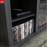 "Charcoal Sunbury TV Stand for TVs up to 60"" - AsSeenOnTheShow"