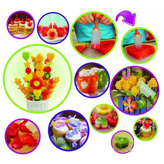 8Pcs Fruit Vegetable Shape Cutters - AsSeenOnTheShow