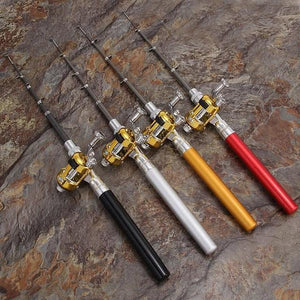 High Quality Portable Mini Fishing Rod Pocket - AsSeenOnTheShow