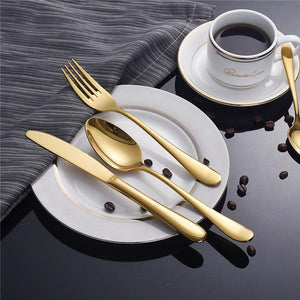 Luxurious Stainless Steel Cutlery - AsSeenOnTheShow