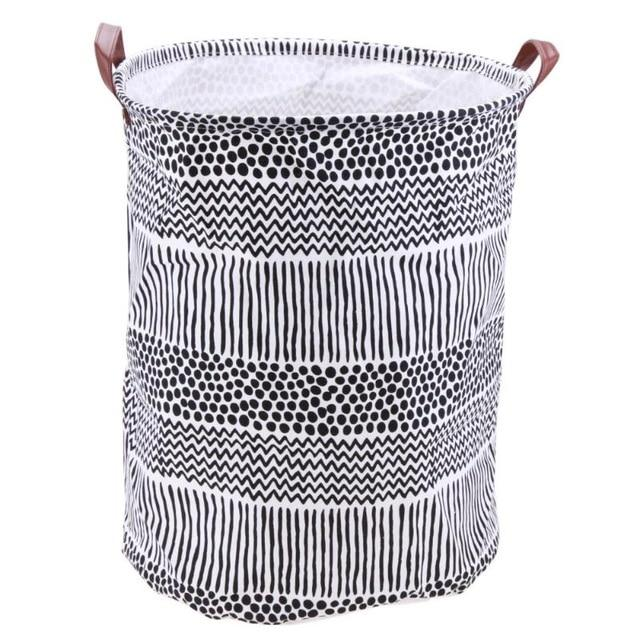 Folding Laundry Basket Toys Clothing Storage - AsSeenOnTheShow