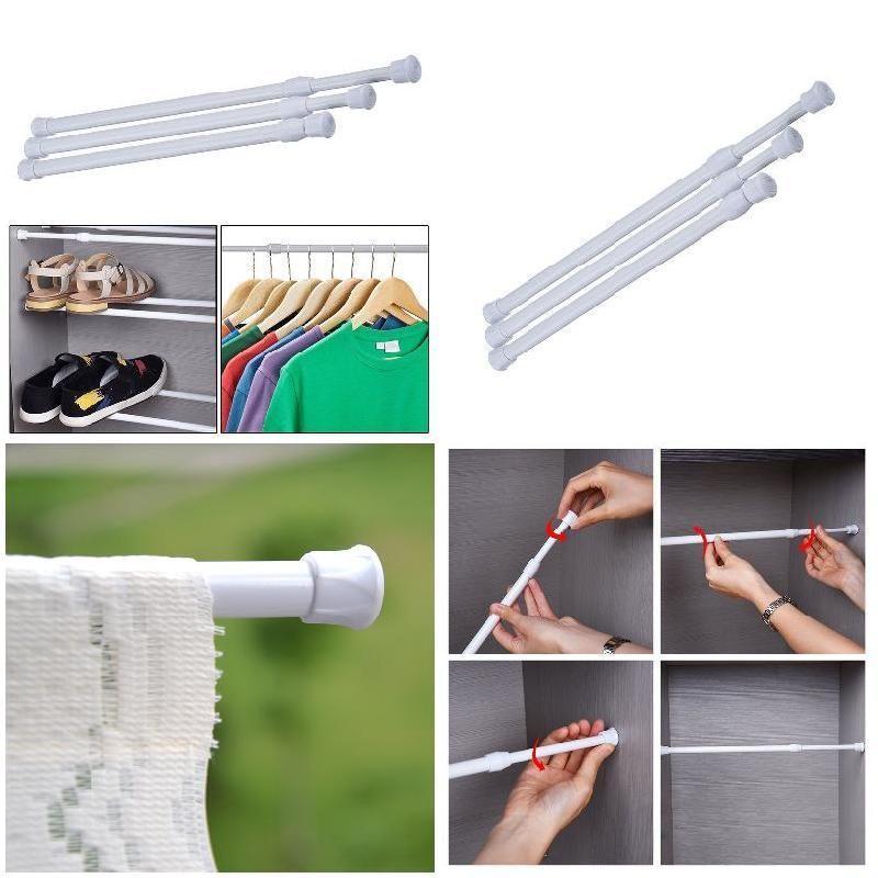 Extendable Adjustable Curtain Rod - AsSeenOnTheShow