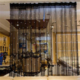 Crystal Beaded Curtain String Door Window Room Panel - AsSeenOnTheShow