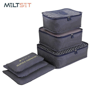 6 Pcs Set Travel Organizer Storage Bags - AsSeenOnTheShow