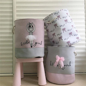 Pink Laundry Basket for Clothes Organizer - AsSeenOnTheShow