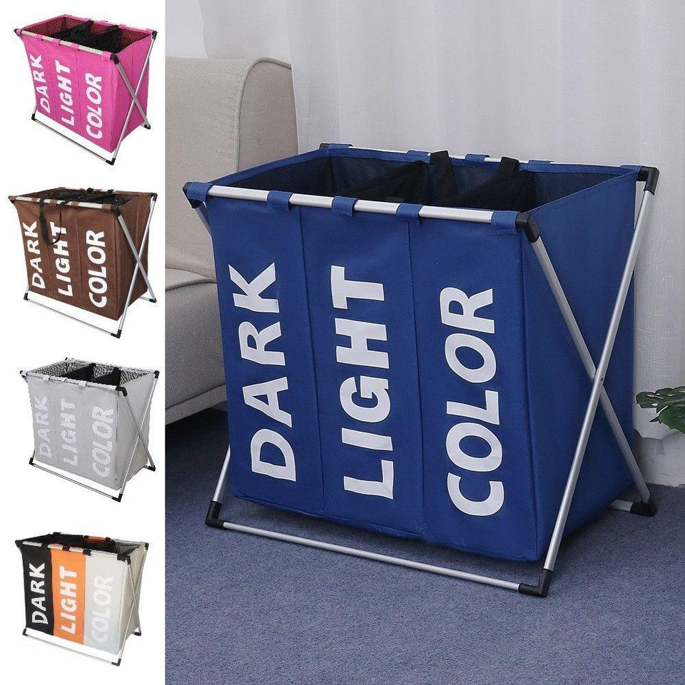 Collapsible Dirty clothes laundry organizer  basket - AsSeenOnTheShow