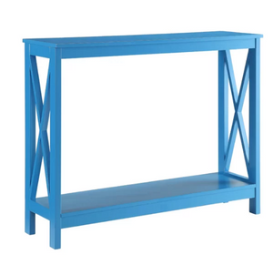 Blue Stoneford Console Table - AsSeenOnTheShow