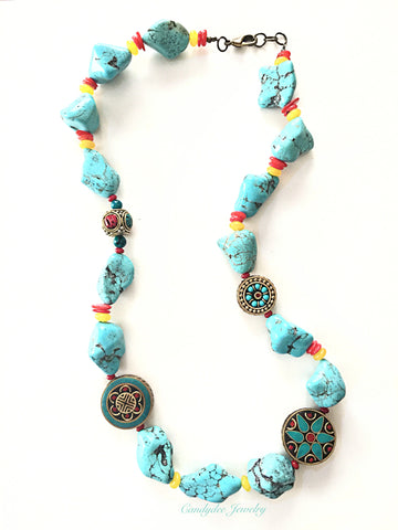 Tibetan Love necklace