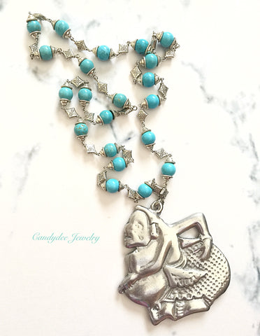 Turquoise Semar Necklace