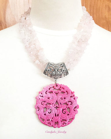 Little Pink Blush Necklace