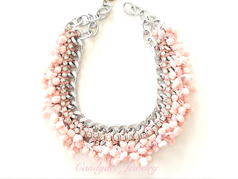 Lullaby Pink Necklace
